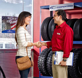 Shop for Cooper tires at Ward TireCraft